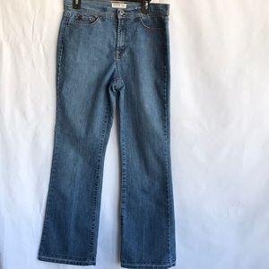 Jeanstar premium denim bootcut jeans, size 12